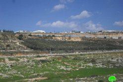 """المنطقة الصناعية """" ارائيل"""" تلتهم المزيد من أراضي قرية بروقين"""