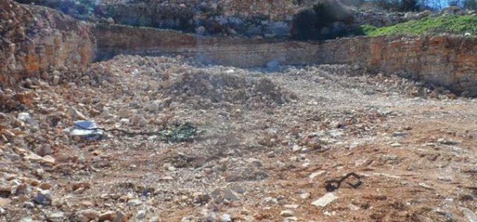 Stop-work Orders in the Hebron village of Beit Ummar