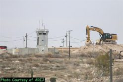 Land Leveling In Beit Sahour City to fortify Ush Ghrab Military Base