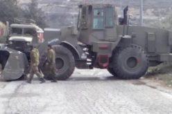 دون أوامر عسكرية مسبقة, الاحتلال الاسرائيلي يشرع بتجريف أراضي لإقامة برج عسكري في وادي سعير