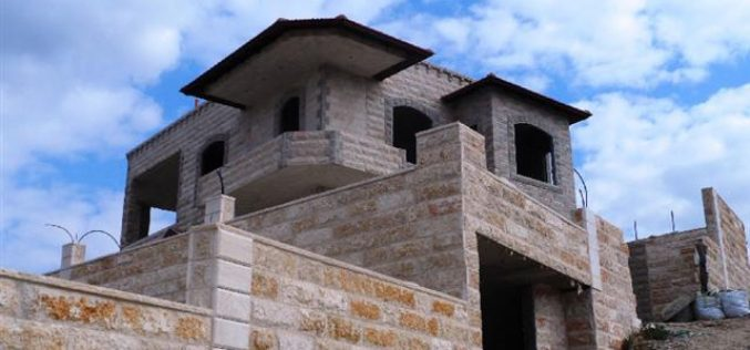 اخطار 11 مسكناً في قرية بتير <br>  الاحتلال الإسرائيلي يصعّد من هجمته العدوانية على المساكن الفلسطينية