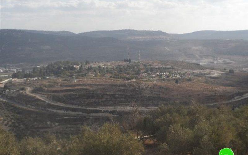 """مستعمرو """" ايتمار"""" يستولون على المزيد من الأراضي في قرية عورتا"""