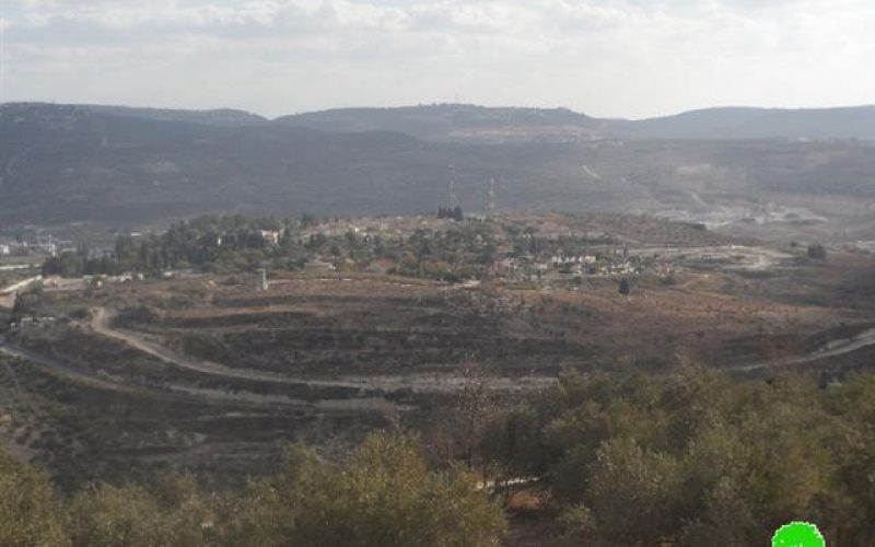 Itamar colonists take over more lands from Awarta village