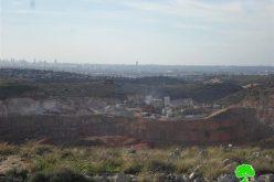 كسارات ومحاجر للمستوطنين قائمة على الأراضي الفلسطينية وتتوسع باستمرار!؟