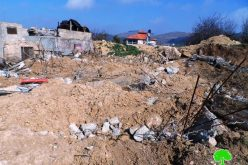The Israeli occupation demolished an under construction house in Hebron