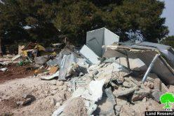 متحدياً للاتحاد الأوروبي, الاحتلال الإسرائيلي يهدم مساكن للبدو أنشأها الأوروبيون