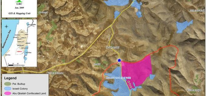 للمرة الثامنة … الاحتلال يهدم خيمة وحظيرة في منطقة لسيفر شرق يطا