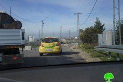 الاحتلال الإسرائيلي يغلق طريقين في محافظة رام الله