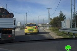 The Israeli occupation seal off two roads in Ramallah