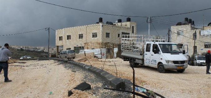 The Israeli Occupation Forces demolish two residences in Jerusalem