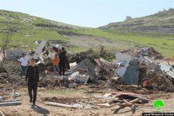الاحتلال يشن حملة تجريف وهدم واسعة في قرية العيسوية