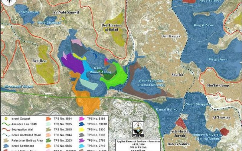 """""""Impairing the peace process"""" <br> Expediting expansion in Ramot settlement northwest of Jerusalem"""