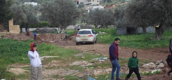 The Israeli Occupation Forces re-close the entrance of Qabatiya town for the second time in a month