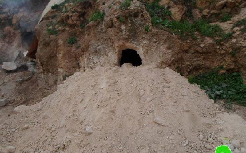 الاحتلال الإسرائيلي يدمر خربة طانا ويشرد 16 عائلة فلسطينية
