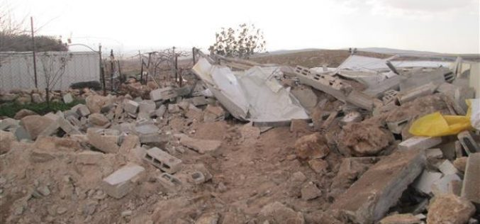 Israeli Violations in the Occupied Palestinian Territory – February 2016 Ongoing Israeli Escalation….Demolition & Collective Punishment Rises