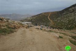 بعد أن هدمها وأعادوا بنائها أهالي الخربة, مرة أخرى الاحتلال الإسرائيلي يخطر شفوياً بهدم خربة عين الرشاش