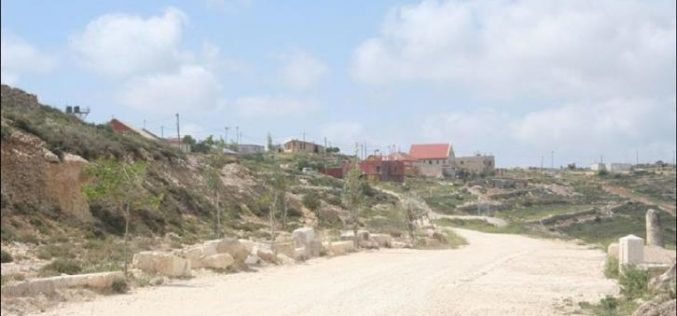 West of Bethlehem Governorate Structures in the illegal outpost of Derech Ha'Avot to be legalized