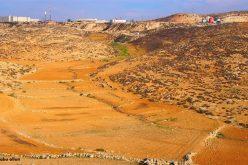 """المنطقة الصناعية """"ميتاريم"""" تضخ مياهها العادمة على أراضي بلدة الظاهرية وتتوسع على حسابها"""