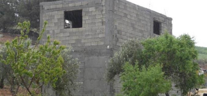 Stop-work orders in the Hebron hamlet of Khallet Al-Furn