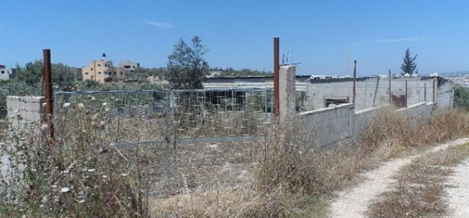 """""""Additional opportunity to object demolition"""" orders served in Tulkarm"""