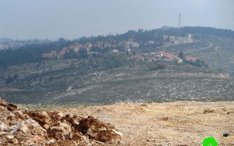 """كسارة """" بن آري """" تتوسع على أراضي المواطنين في قرية سوبا غرب الخليل"""