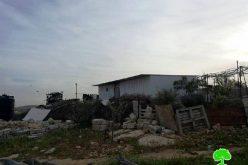 Stop-work orders in the Yatta hamlet of Um Al-Kheir