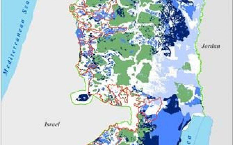 יותר מרבע מליון דונמים על סף אבדן,דבר זה יביא להתרחבות שטחי ההתנחלויות ב- 133% על חשבון שטחי הפלסטינים הכבושים