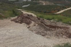 Israeli Occupation Forces seal off three agricultural roads in Nablus