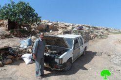 الاحتلال الاسرائيلي يهدم خربة طانا للمرة الرابعة منذ مطلع العام الحالي