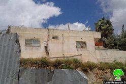 ضمن سياسة العقاب الجماعي, سلطات الاحتلال تغلق مسكن عائلة دويات بذريعة الأمن في بلدة صور باهر
