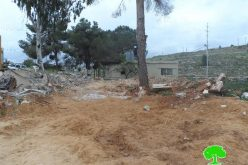 Israeli Occupation Forces demolish a park in the Nablus village of Zatara