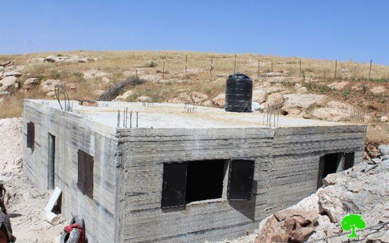 Stop-Work orders in the Yatta area of Al-Jawaya
