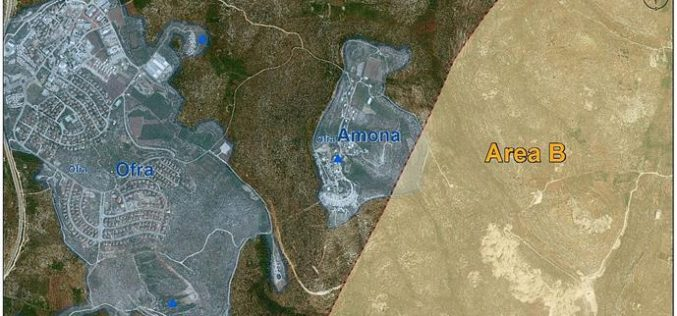 Israel is destroying the territorial contiguity of the future Palestinian state <br> &#8220;Plan for a new Israeli settlements near Shilo&#8221;