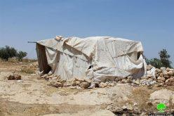 إخطارات بوقف العمل في قرية سوسيا جنوب يطا
