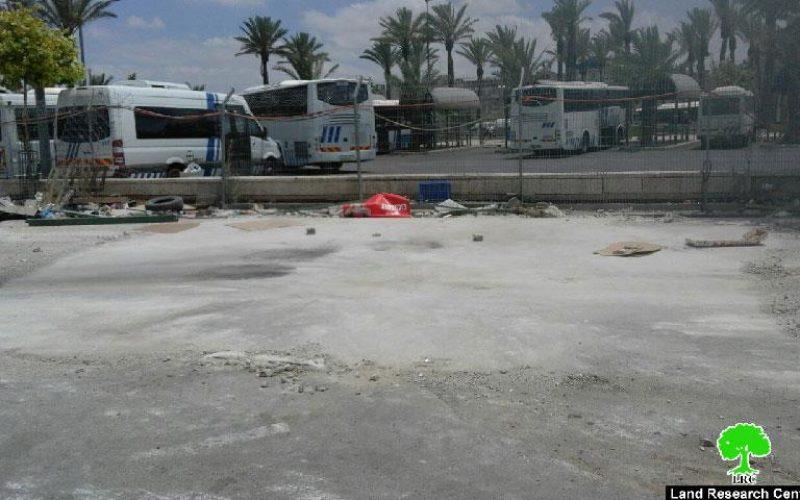 هدم مسجد الأنبياء الكائن في حي المصرارة بباب العامود – القدس المحتلة