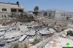 جرافات الاحتلال تهدم مسكناً قيد الإنشاء في قرية العيسوية بحجة عدم الترخيص