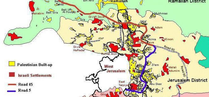 The Circling of East Jerusalem – Roads 45 and 5