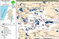 حملة توسع كبيرة  في المستوطنات الإسرائيلية في محافظات شمال الضفة الغربية