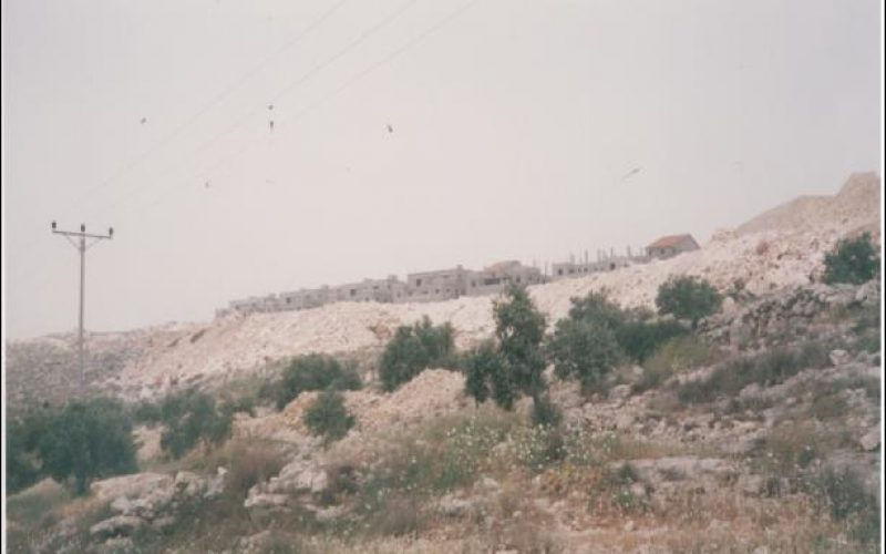 New Colonial Activity in Deir Ballut Village – Salfit District