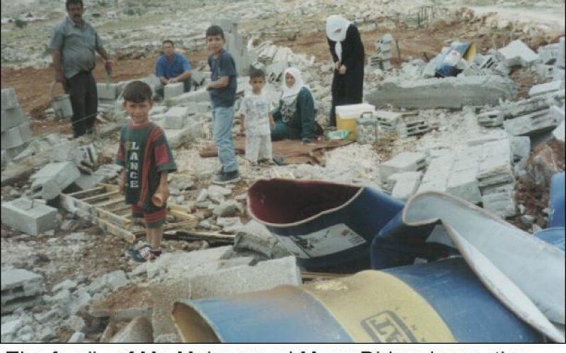 Israeli Occupation Forces Demolishes Three Houses in Al Essawiyah Village