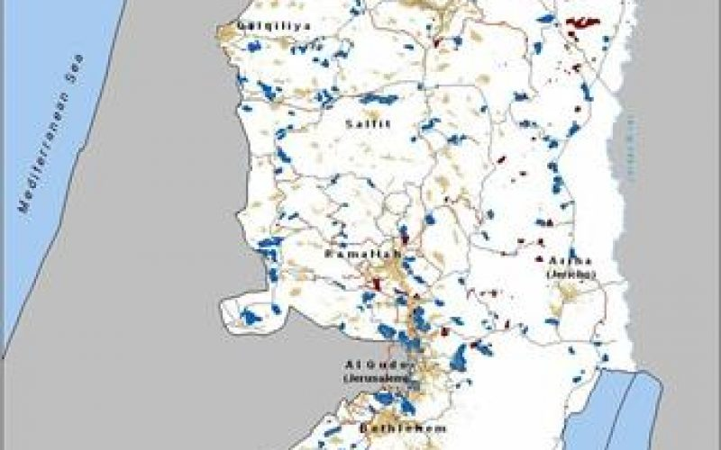 """The First Intermediary Report for the """"Monitoring Israeli Colonizing Activities"""" Project"""
