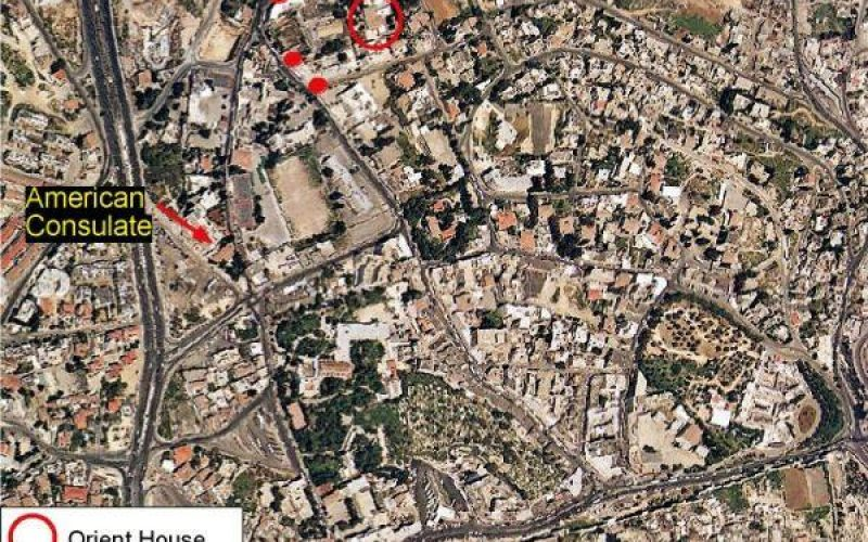 Sharon's government re-occupies the Orient House, headquarters of Jerusalem governorate and other Palestinian institutions