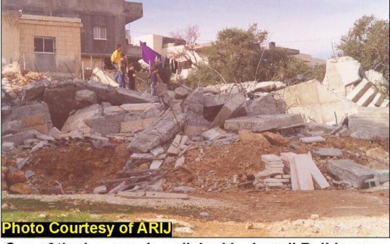 Repeating Demolishing in Jerusalem … A new Tragedy At Al-Isawiyah
