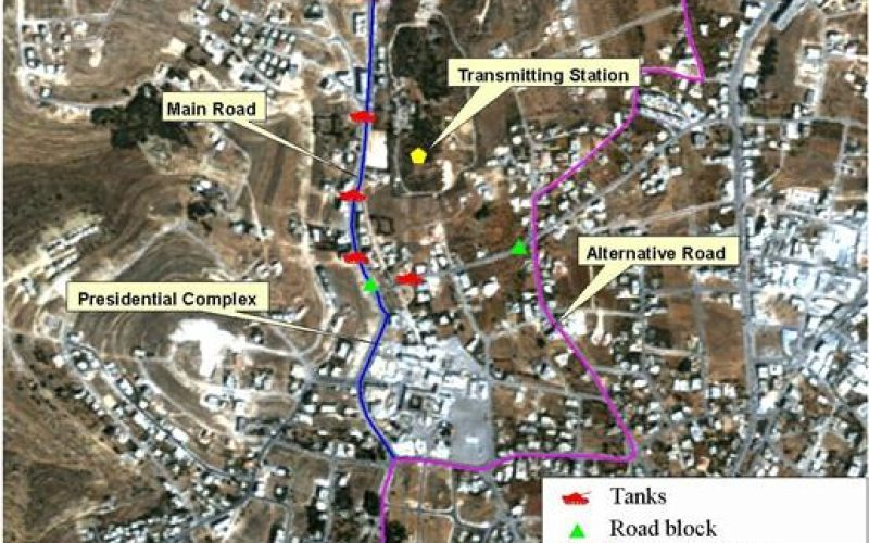 Israeli's Restrictions on President Arafat