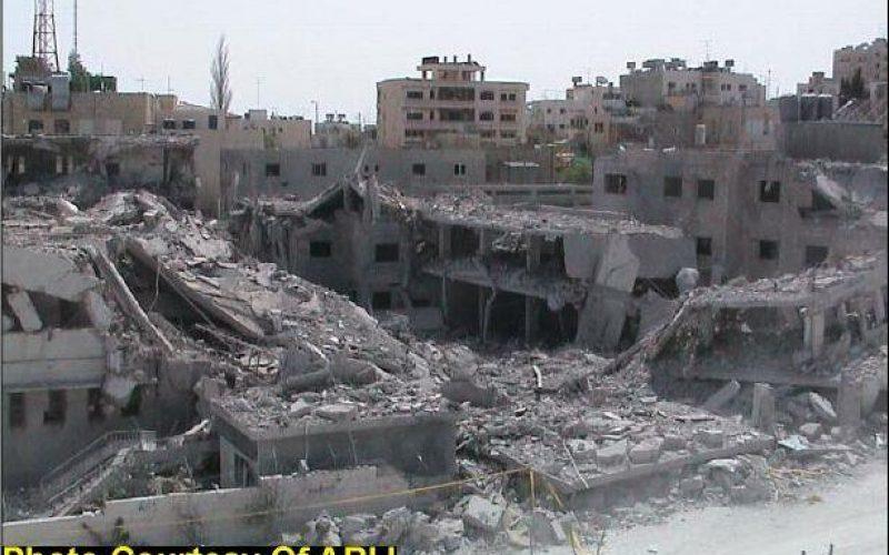 Devastations of Bethlehem district…