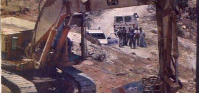 New Israeli Settlement in Jabel Al- Mukaber