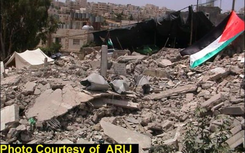 House Demolition Campaign in Bethlehem