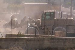 Israel Blocks The Roads At The Main Entrance Of Bethlehem City Near ARIJ