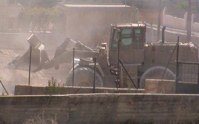 Israel Blocks The Roads At The Main Entrance Of Bethlehem City Near ARIJ