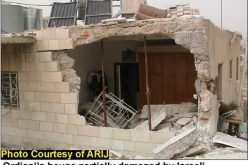 "Devastations of Bethlehem district <br> ""An act of Israeli Vandalism """